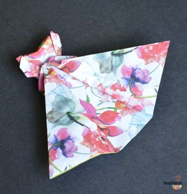 Origami Fashion Designs for Kids