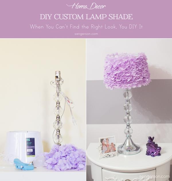 DIY Custom Lamp Shade DIY Lamp Shade