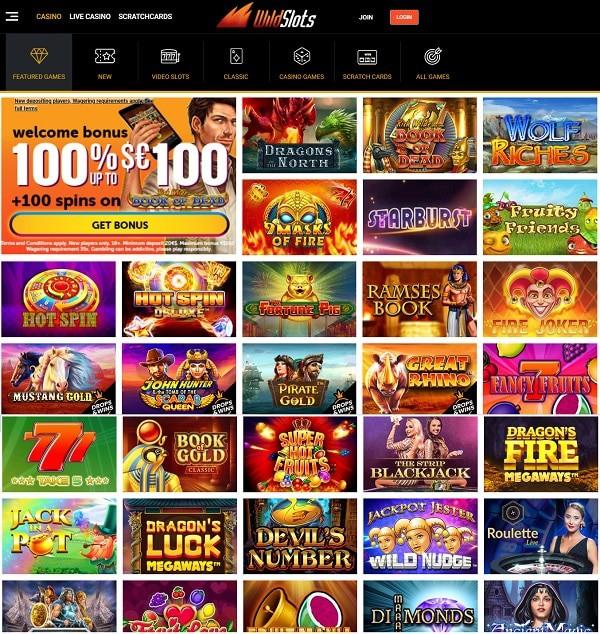 Wildslots Casino Review and Bonus