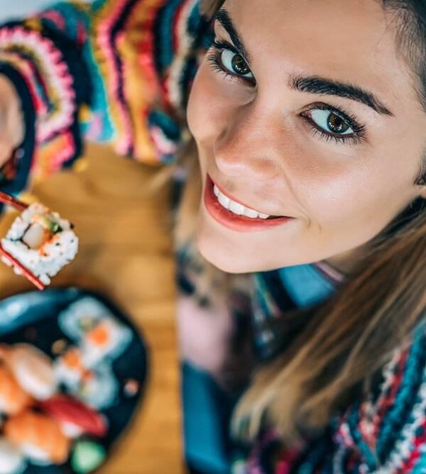 Jak prawidłowo jeść sushi House of Asia