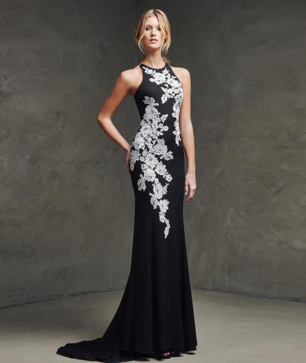 vestidos-de-fiesta-pronovias-laina-negro