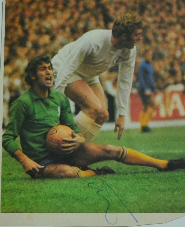 Gordon Banks Masgazine Cut Out