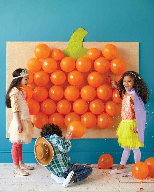 Pop the Pumpkin Halloween Game