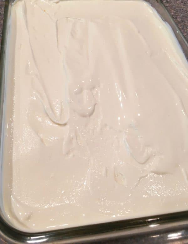 Ice Cream cake Preparation