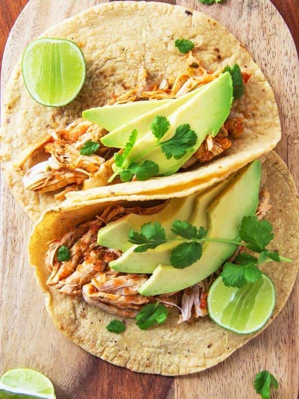 Chicken Tacos with Avocado