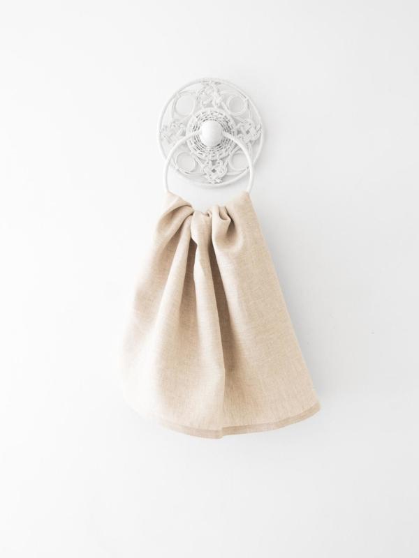 Natur handduk från Linneverket