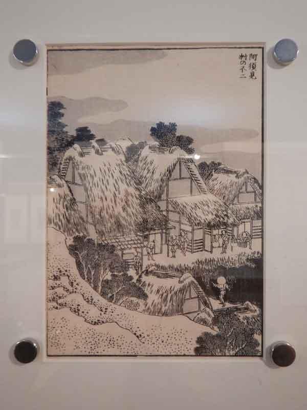 Hokusai, il villaggio di Asumi esposto a Trieste