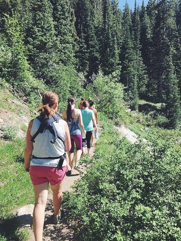 Hiking at Solitude Mountain, Utah