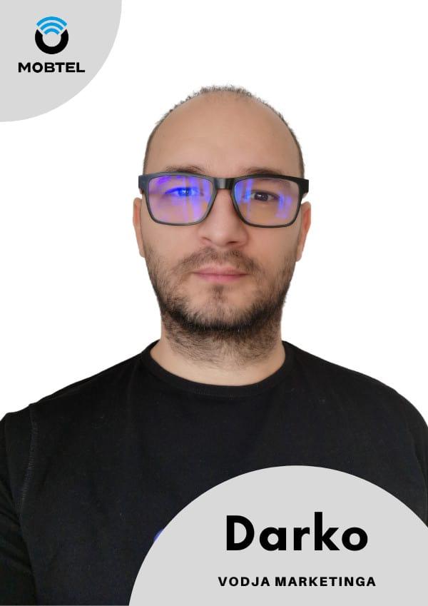 Darko, Vodja marketinga Prodajaln Mobtel