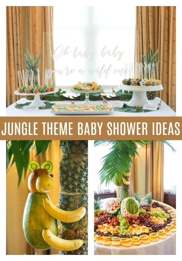 Fun Jungle Theme Baby Shower - Pretty My Party