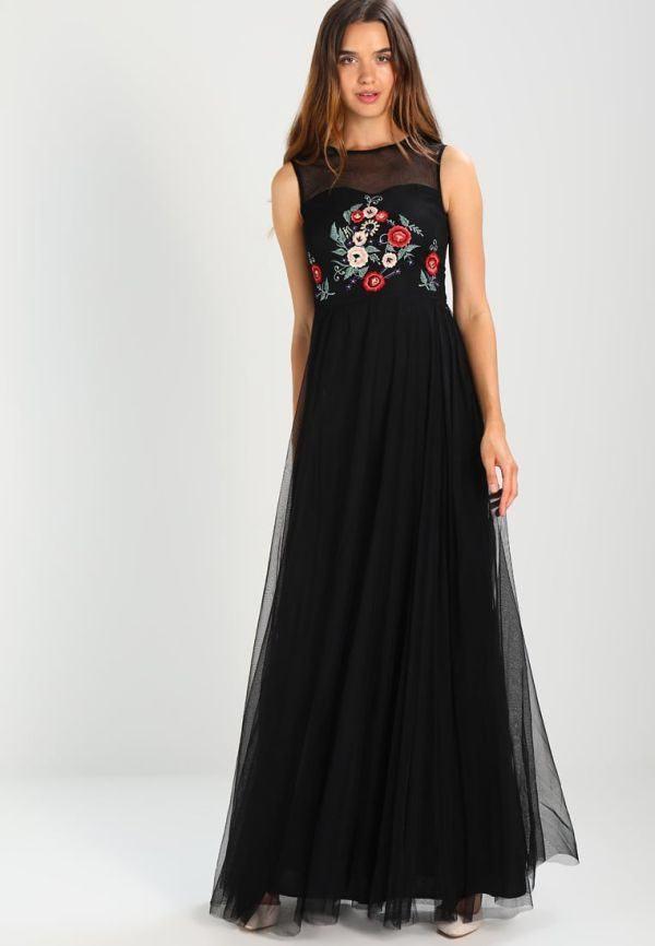 vestidos-negros-de-fiesta-largos-estampado-zalando