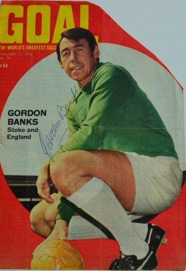 Gordon Banks Magazine Cut Out