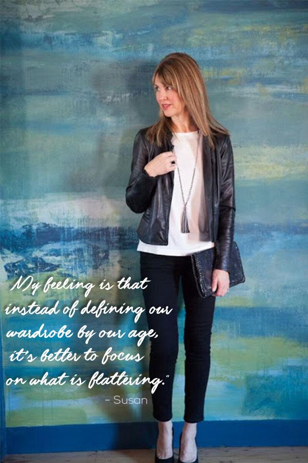 Susan kanoff on style | 40plusstyle.com
