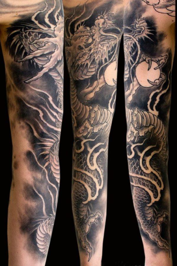 tatuajes-japoneses-dragon-oscuro