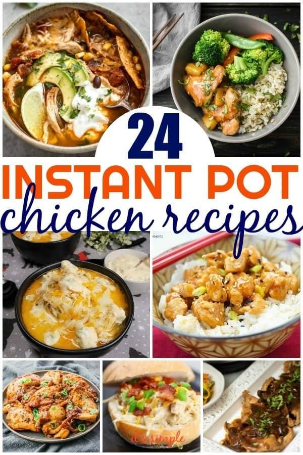 weeknight instant pot recipes