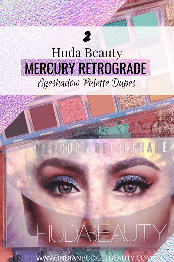 Huda Beauty Mercury Retrograde dupe