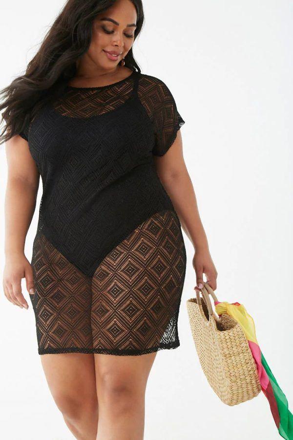 mejores-tiendas-tallas-vestido-crochet-negro-forever21