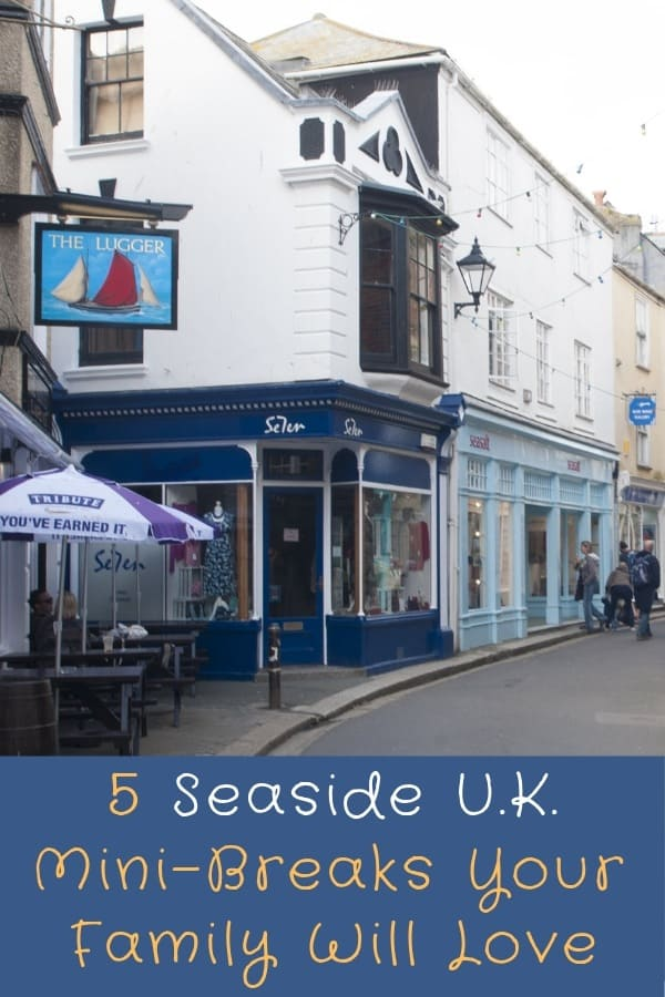 5 ideas for weekend breaks in England. These 5 seaside counties offer scenic towns and plenty to do for the whole family at any time of year #family #vacation #weekend #break #kids #thingstodo #UK #england #seaside