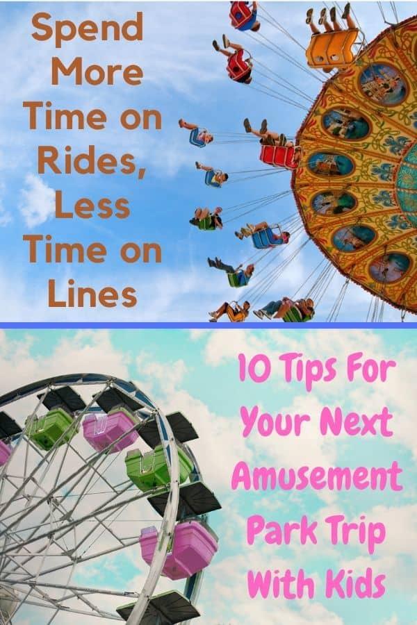 Theme park tips pin