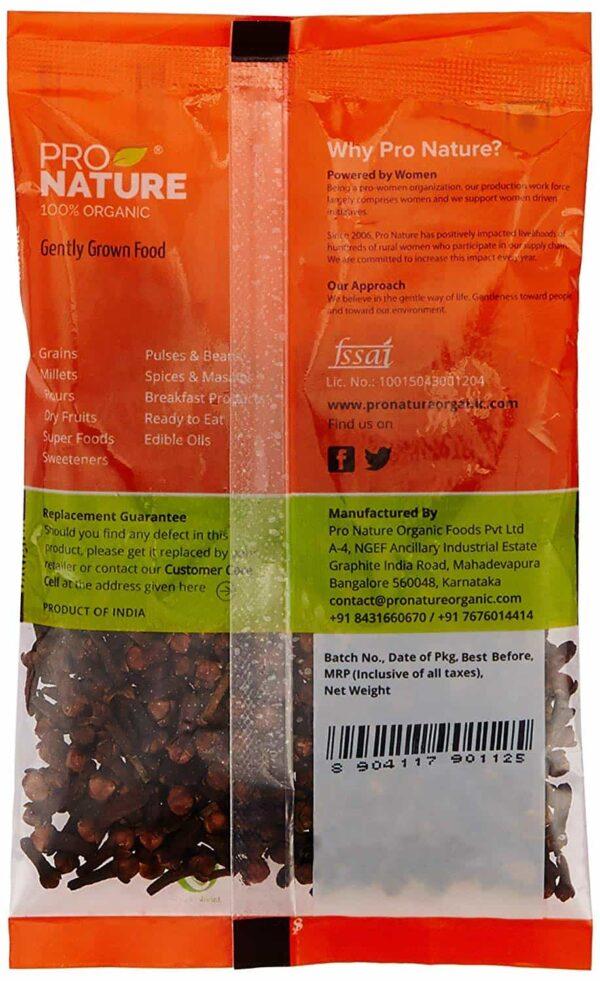 Buy Pro Nature - 100% Organic Clove - 50g Online