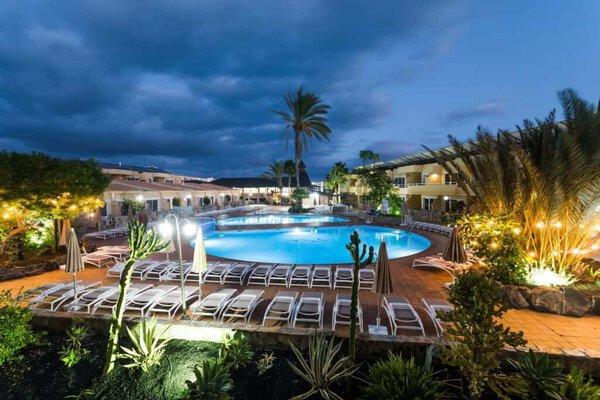 Exterior of Hotel Arena Suite in Fuerteventura Spain