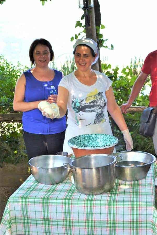 Fresh Mozzarella in Sorrento