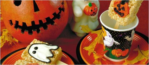 Pumpkin Cake Halloween Facebook Cover