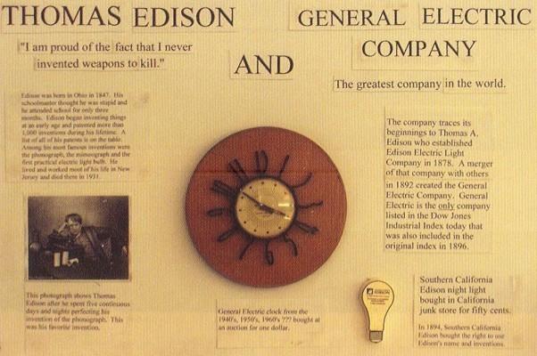 Edison Şirketlerinden General Electric
