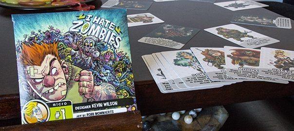 I Hate Zombies pakkaus
