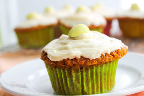 Carrot Cupcakes from The Salted Cookie