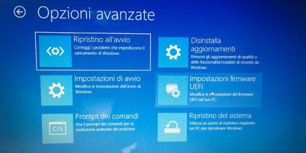 Firmware UEFI Windows 10