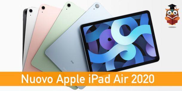 Nuovo Apple iPad Air 2020
