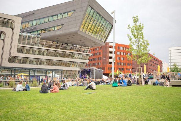 green campus of vienna university