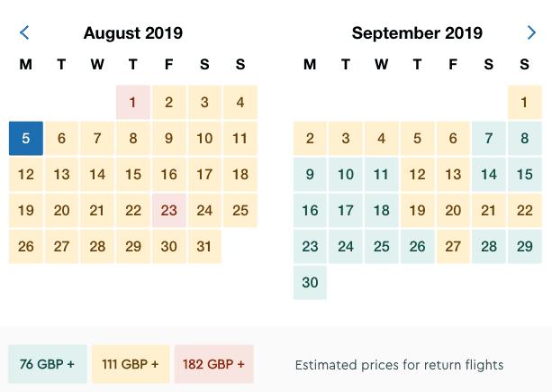 Ibiza Closing Party Flight Costs