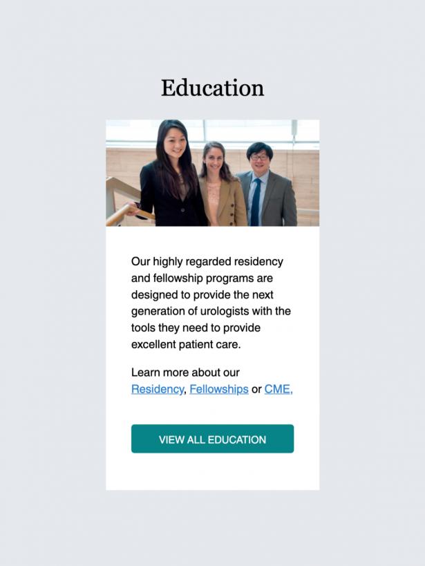 UCSF Urology Education Callout