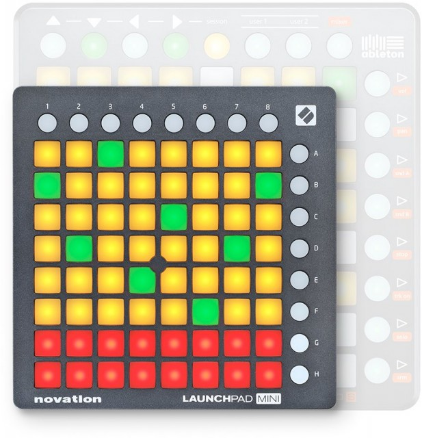 And we see how this fits together, too. So far, looks like there's not much reason to choose a Launchpad S over the smaller, slimmer Launchpad Mini - unless you have big fingers, of course.