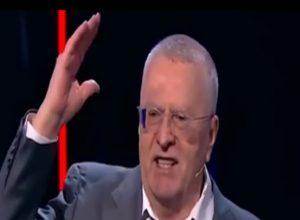 «Будет вечная война!» Жириновський