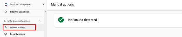 آموزش Manual Actions در گوگل سرچ کنسول