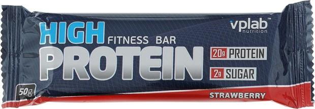 High Protein bar с клубникой