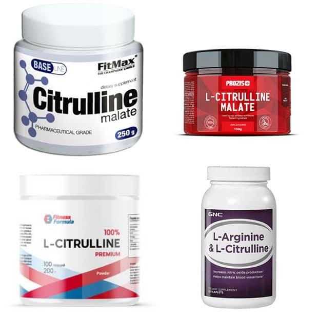 Добавки с цитруллином