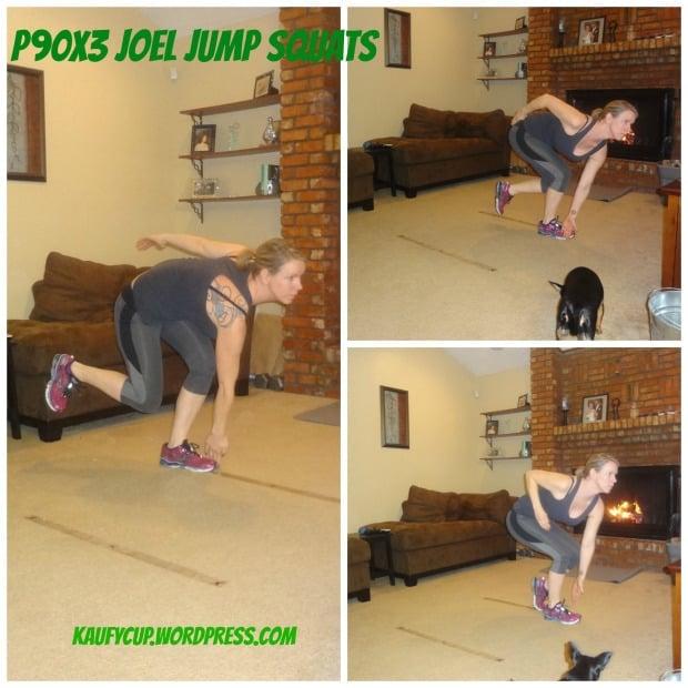 P90X3 Agility X Joel Jump Squats