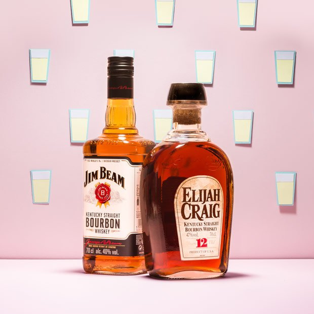 Jim Beam and Elijah Craig