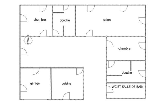 surface de la pièce et d'une maison sont des critères à prendre en compte