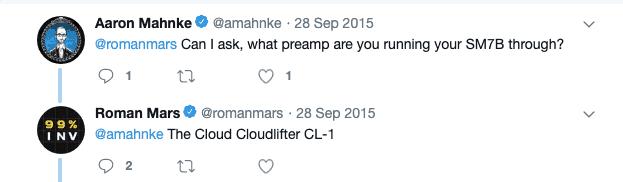 Roman Mars Cloudlifter Cl1