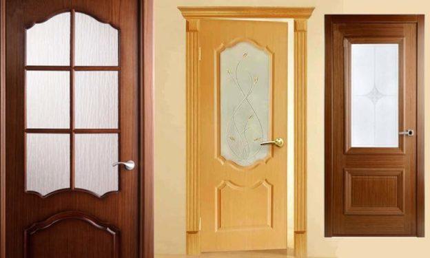 Различные виды межкомнатных дверей