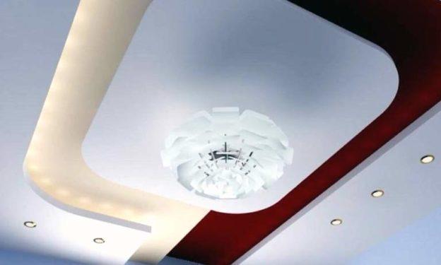 Как выглядит многоуровневый натяжной потолок