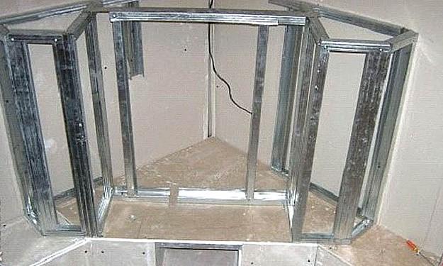 Каркас для декоративного электрического камина