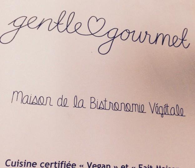 Gentle Gourmet : maison de bistronomie végétale à Paris