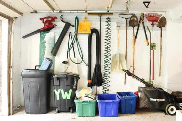 garage-makeover-wall-organization-yard-tools