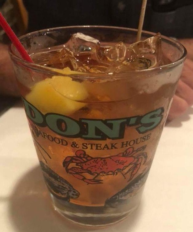 A don's old fashioned